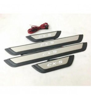 Mazda CX5 Side Still Plate Stainless Steel ABS