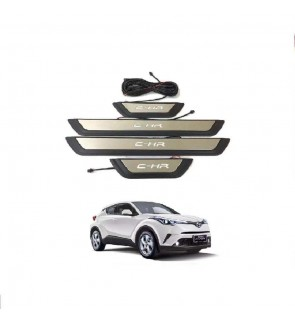 C-HR Side Still Plate Stainless Steel ABS