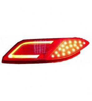 HRV Rear Bumper Safty Reflector Light Bar Red