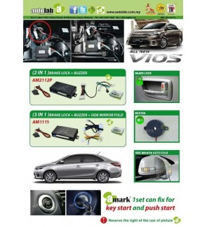 BRAKE LOCK WITH BUZZER AM-2112P FOR ALL NEW VIOS
