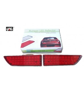 Perodua Myvi 2018 Rear Bumper Reflector Led Red