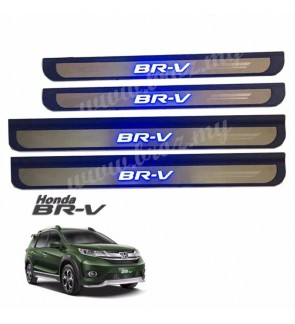 Honda BR-V Side Steel Plate/Side Sill Plate Stainless Steel ABS