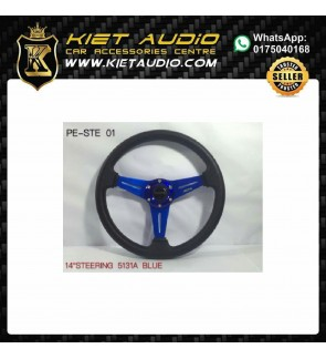 STEERING 14 INCH BLUE COLOUR