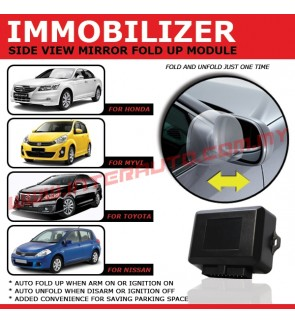 IMMOBILIZER-S SIDE VIEW MIRROR FOLD UP MODULE FOR MYVI 2011