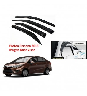 Mugen Air Press Window Door Visor Wind Deflector For Proton Persona 2016