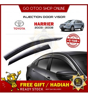 Injection Door Visor For Toyota Harrier 2003 - 2008