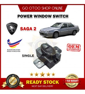Proton Saga 2 Oem Power Window Switch Single