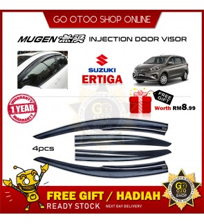 Mugen Air Press Window Door Visor Wind Deflector Suzuki Ertiga