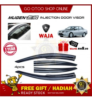 Mugen Air Press Window Door Visor Wind Deflector For Proton Waja