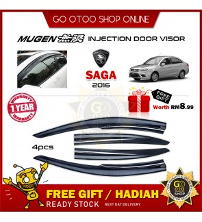 Mugen Air Press Window Door Visor Wind Deflector For Proton Saga 2016