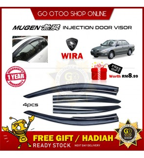 Mugen Air Press Window Door Visor Wind Deflector For Proton Wira