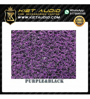 RUBBER MAT FOR ALL CARS (PURPLE AND BLACK)