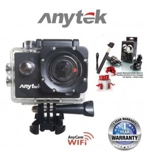 ANYTEK AnyCam AC-28 3 in 1 Full HD Action Car Camera and DVR Functions