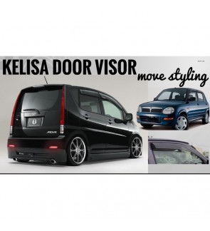 Move Desigh Door Visor For Perodua Kelisa