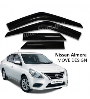 Move Desigh Door Visor For Nissan Almera