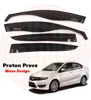 Move Desigh Door Visor For Proton Preve