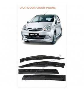 Move Desigh Door Visor For Perodua Viva