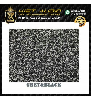 RUBBER MAT FOR ALL KIND OF CARS (GREY&BLACK)COLOUR
