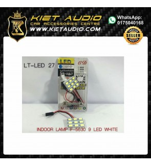 INDOOR LAMP F-5630 9 LED WHITE