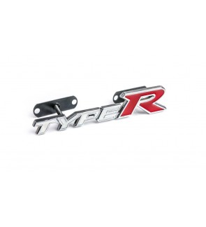 GRILL EMBLEM FOR CAR TUNING LOGO FRONT GRILLE TYPE R