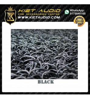RUBBER MAT FOR ALL KIND OF CARS BLACK COLOUR