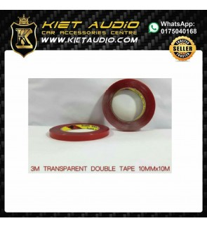 3M Waterproof Transparent Acrylic Double Sided Adhesive Tape 10mm