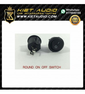 Round Rocker Toggle ON/OFF Switch  Push Button Switch