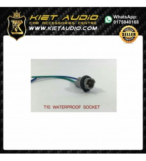 WATERPROOF  T10  Car Led Smd Light Wire Harness Socket Holder Connector