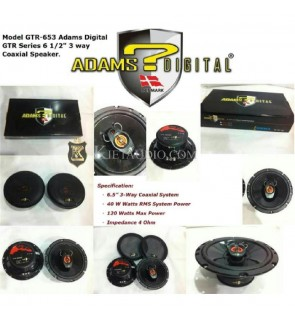 ADAMS DIGITAL GTR 653  CAR SPEAKER