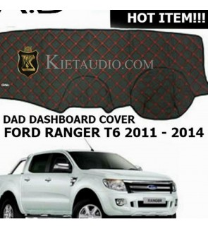 D.A.D DASH BOARD COVER FOR FORD RENGER T6 2011 2014