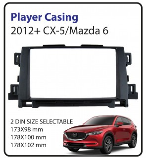Mazda 6/CX-5 2012 Car Audio Player Casing (Double Din)
